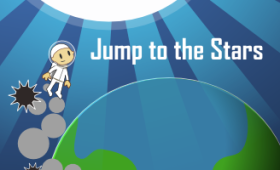 Jump to the Stars is a simple game about chasing your dreams. Can you make it to the stars without getting hit along the way?